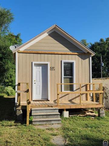 520 NE Sardou Ave, Topeka, KS 66608 (MLS #220816) :: Stone & Story Real Estate Group