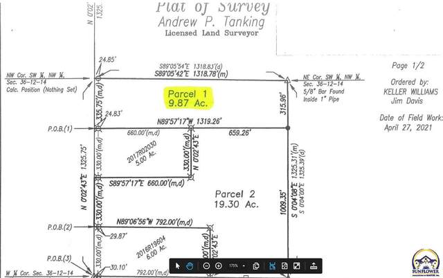 00000 SW Auburn Rd, Topeka, KS 66610 (MLS #218001) :: Stone & Story Real Estate Group