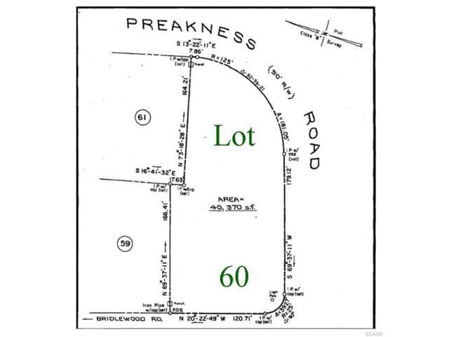 Lot 60 Preakness Road, Milton, DE 19968 (MLS #714737) :: The Don Williams Real Estate Experts