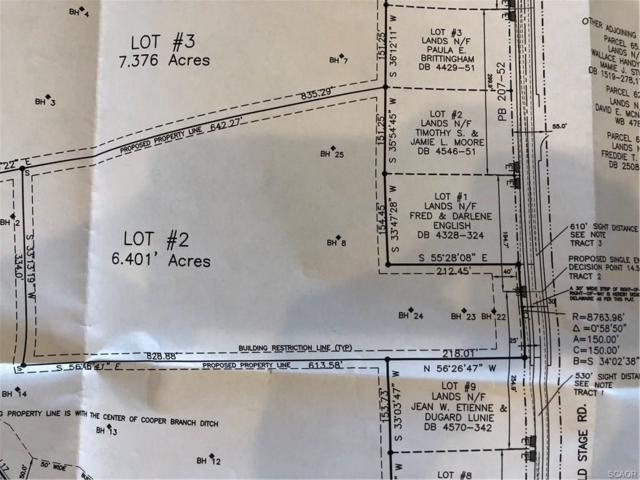 Lot 2 Old Stage Rd #2, Laurel, DE 19956 (MLS #728762) :: Atlantic Shores Realty