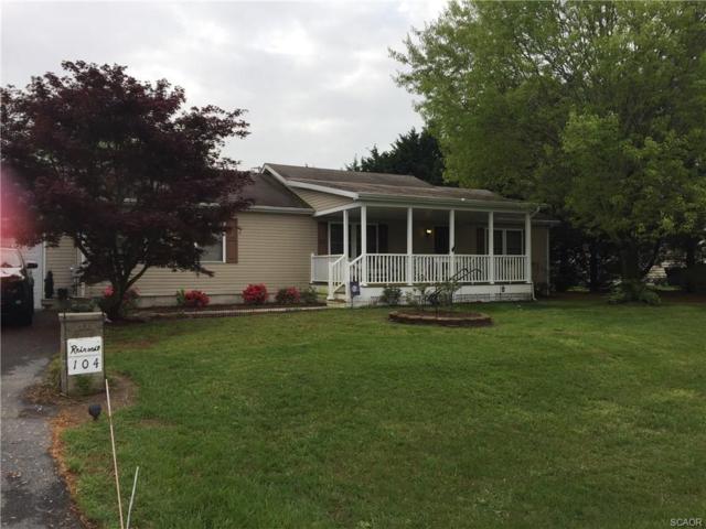 104 Creek Drive, Milton, DE 19968 (MLS #719572) :: The Don Williams Real Estate Experts