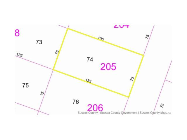 Lot 74 Hastings Road, Selbyville, DE 19975 (MLS #722602) :: Barrows and Associates