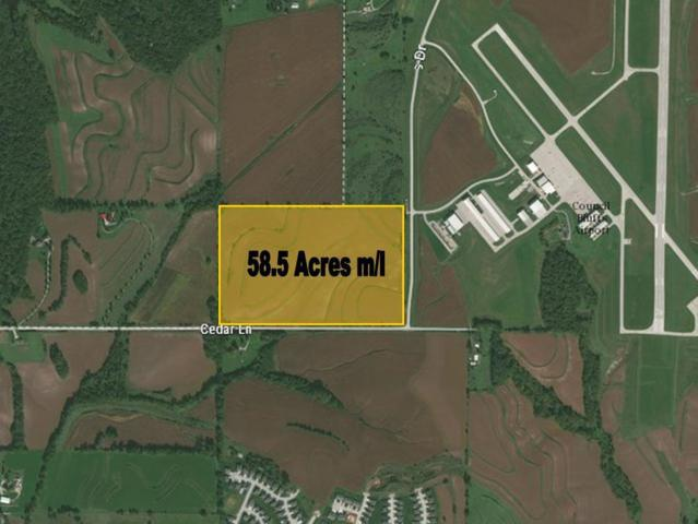 58.5 AC Cedar Lane, COUNCIL BLUFFS, IA 51503 (MLS #18-318) :: Stuart & Associates Real Estate Group