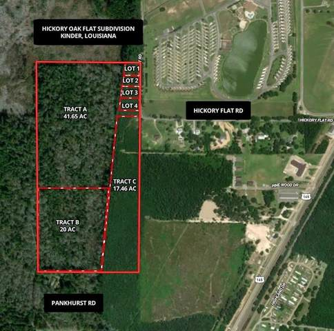 Hickory Flat Road, Kinder, LA 70648 (MLS #SWL21007848) :: Robin Realty