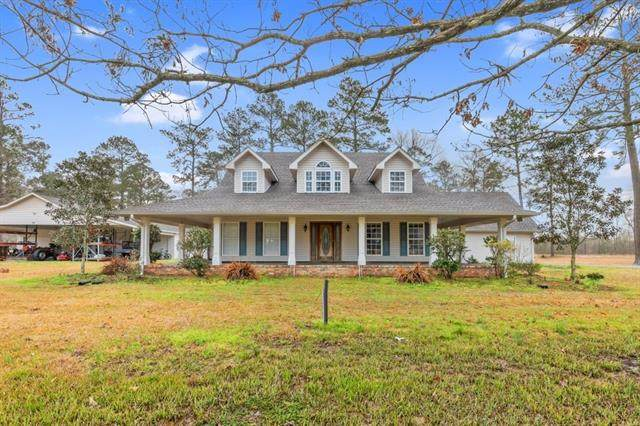 695 Little Mill Road, Kinder, LA 70648 (MLS #SWL21000106) :: Robin Realty