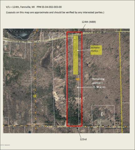 V/L 124th, Fennville, MI 49408 (MLS #17012335) :: Carlson Realtors & Development