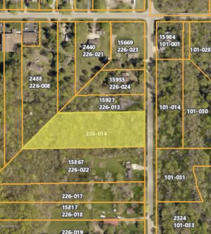 15887 24th Street, Marne, MI 49435 (MLS #18004312) :: Carlson Realtors & Development