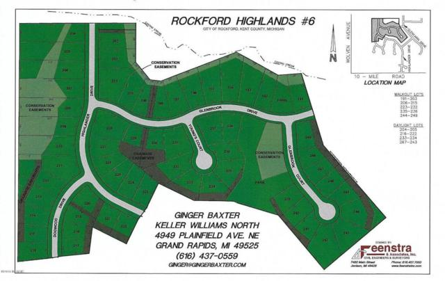 299 Glenbrook Dr Lot 200, Rockford, MI 49341 (MLS #18011612) :: Deb Stevenson Group - Greenridge Realty