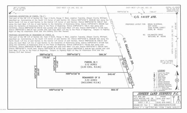 4093 Kalamazoo Avenue SE, Wayland, MI 49348 (MLS #18018805) :: Deb Stevenson Group - Greenridge Realty