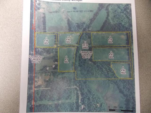 00 N Bunn Road, Jonesville, MI 49250 (MLS #18038331) :: Deb Stevenson Group - Greenridge Realty