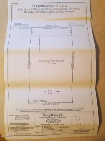 Northland Drive, Big Rapids, MI 49307 (MLS #18047645) :: Deb Stevenson Group - Greenridge Realty