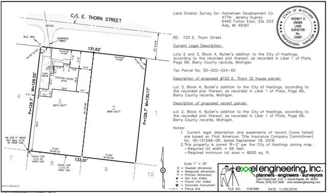 720-Lot 2 E Thorn Street, Hastings, MI 49058 (MLS #18055006) :: Deb Stevenson Group - Greenridge Realty