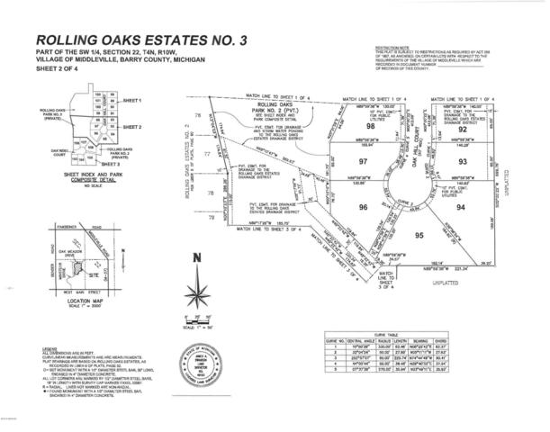 Lots 1-21 Rolling Oaks Estates No. 3, Middleville, MI 49333 (MLS #19010097) :: JH Realty Partners