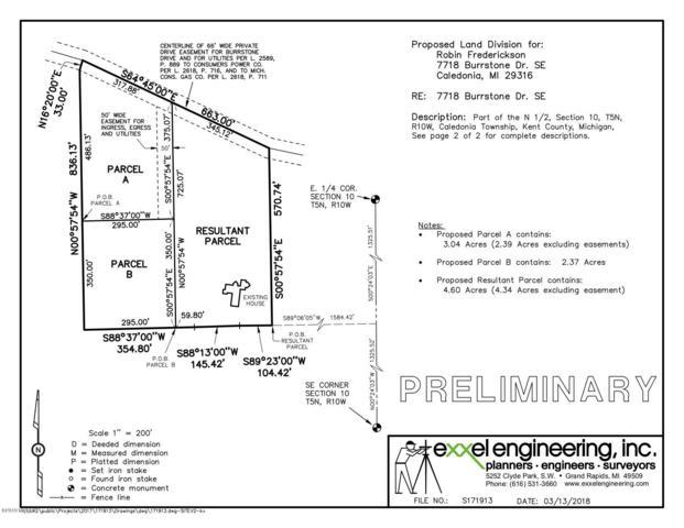 Lot A Burrstone, Caledonia, MI 49316 (MLS #19015533) :: Deb Stevenson Group - Greenridge Realty