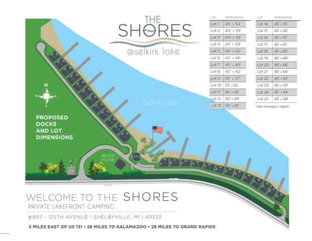 9 Shores Drive Lot 9, Shelbyville, MI 49344 (MLS #19015622) :: Deb Stevenson Group - Greenridge Realty