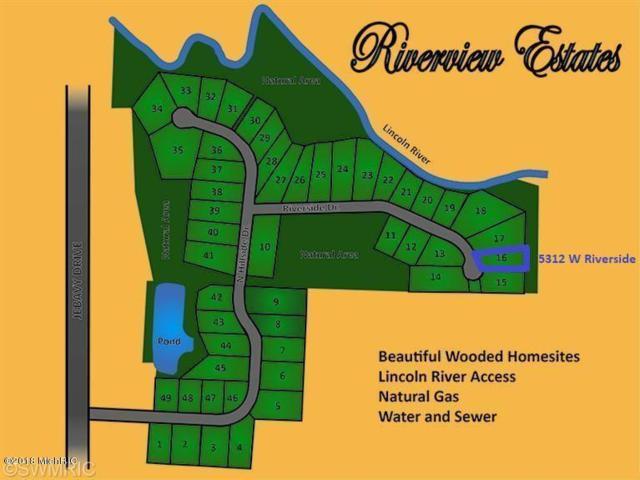 5312 W Riverside Drive #16, Ludington, MI 49431 (MLS #19016545) :: Deb Stevenson Group - Greenridge Realty