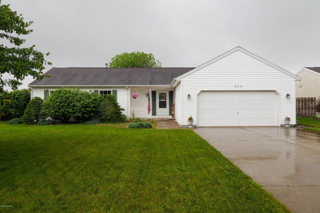 550 Courtney Street, Galesburg, MI 49053 (MLS #19026947) :: CENTURY 21 C. Howard