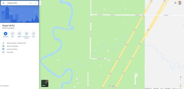 lot a N Maple Hill Road, Howard City, MI 49329 (MLS #19037207) :: CENTURY 21 C. Howard