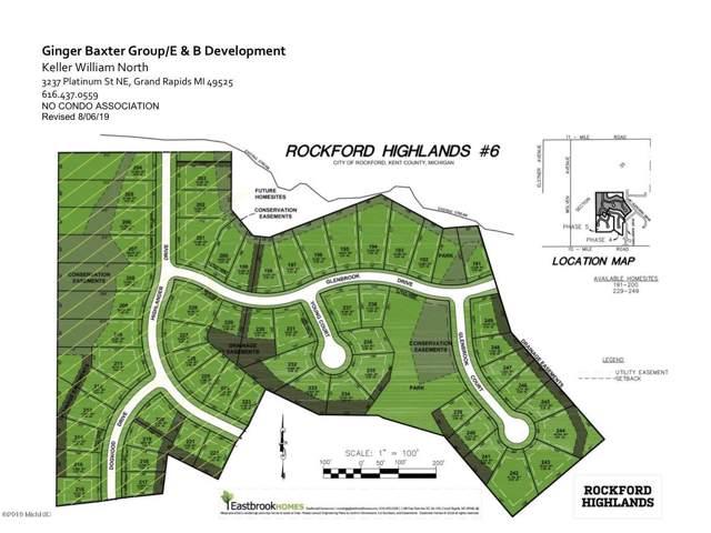 207 Dogwood Dr Lot 211, Rockford, MI 49341 (MLS #19049542) :: CENTURY 21 C. Howard