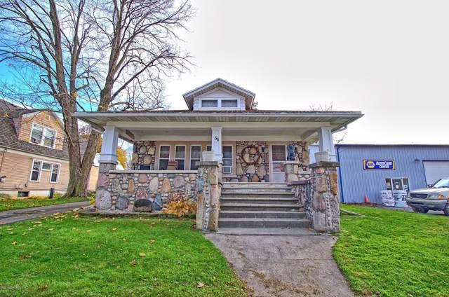 56 Church Street, Saranac, MI 48881 (MLS #19054867) :: Deb Stevenson Group - Greenridge Realty