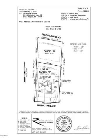 Par B Reeds Lake Boulevard SE, East Grand Rapids, MI 49506 (MLS #20001582) :: JH Realty Partners