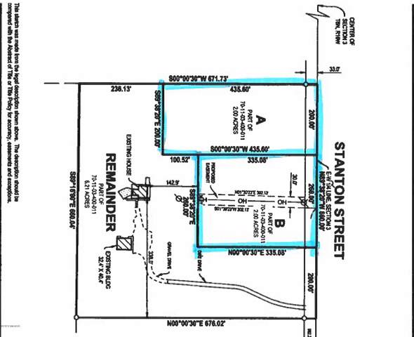 A and B Stanton Street, West Olive, MI 49460 (MLS #20002928) :: Deb Stevenson Group - Greenridge Realty