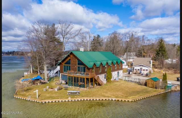 1406 White Birch Drive, Stanton, MI 48888 (MLS #20009975) :: Jennifer Lane-Alwan