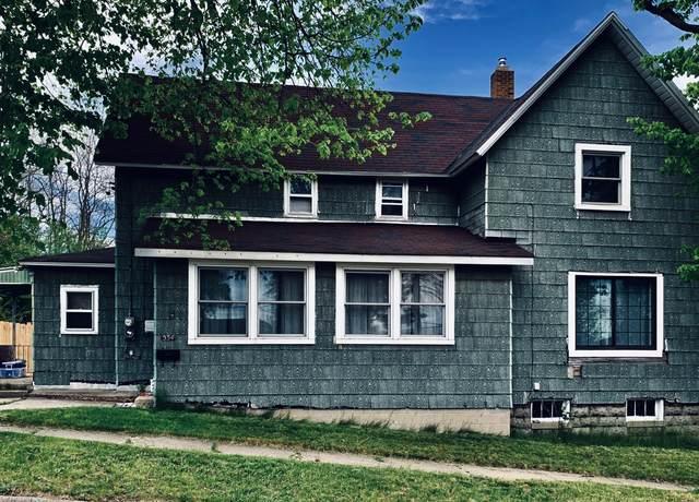 534 Davis Street, Manistee, MI 49660 (MLS #20018497) :: Deb Stevenson Group - Greenridge Realty