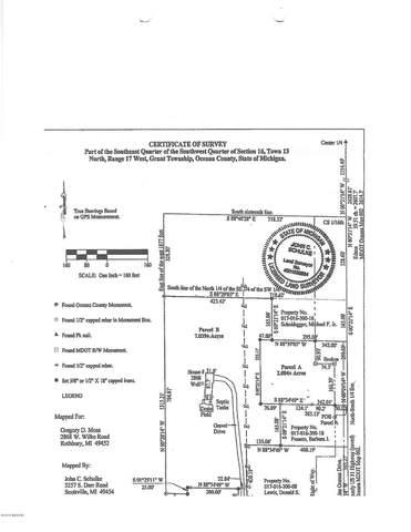 7115 S Oceana Drive, Rothbury, MI 49452 (MLS #20024367) :: CENTURY 21 C. Howard