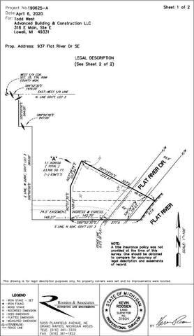 937 Flat River Drive SE, Lowell, MI 49331 (MLS #20030110) :: JH Realty Partners