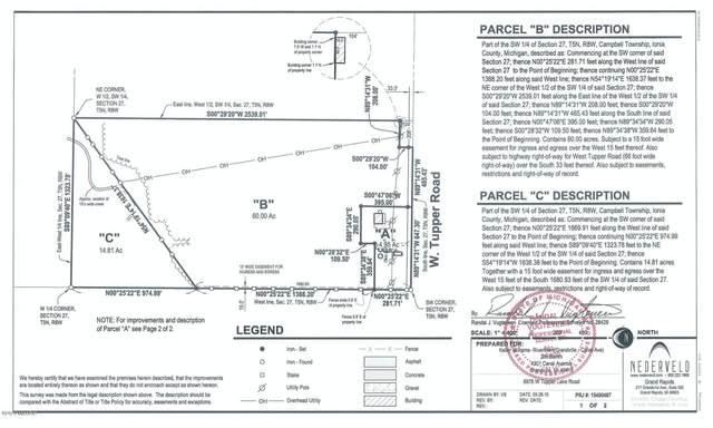 W Tupper Lake Road, Lake Odessa, MI 48849 (MLS #20034906) :: Ron Ekema Team