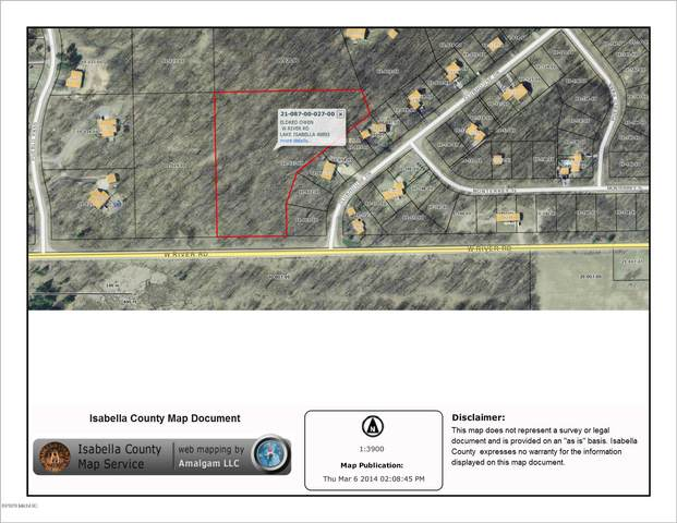 W River Road, Lake Isabella, MI 48893 (MLS #20037589) :: Deb Stevenson Group - Greenridge Realty