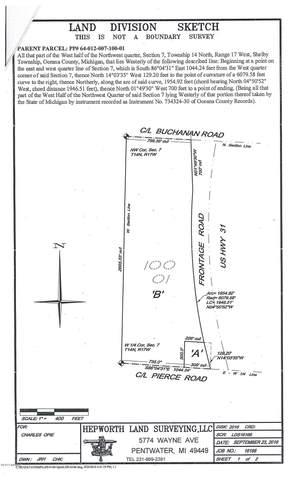 4648 W Pierce Road, Shelby, MI 49455 (MLS #20045370) :: Jennifer Lane-Alwan