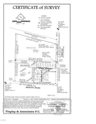 500 W Home Street, Edmore, MI 48829 (MLS #20046125) :: JH Realty Partners