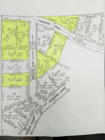 1496 E Lakewood Road Lot 6, Twin Lake, MI 49457 (MLS #20046139) :: Deb Stevenson Group - Greenridge Realty