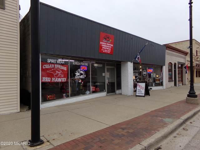 34 N Main Street NE, Cedar Springs, MI 49319 (MLS #20050439) :: Keller Williams Realty | Kalamazoo Market Center