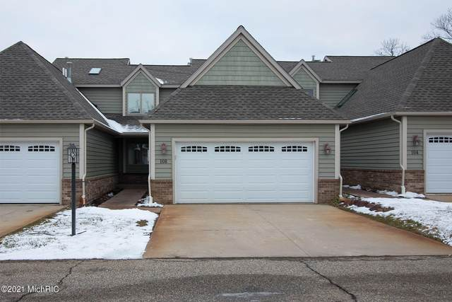 108 Clubhouse Drive #3, Battle Creek, MI 49015 (MLS #21001352) :: CENTURY 21 C. Howard