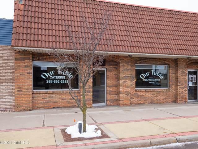 108 E Allegan Street, Otsego, MI 49078 (MLS #21002464) :: Keller Williams Realty | Kalamazoo Market Center
