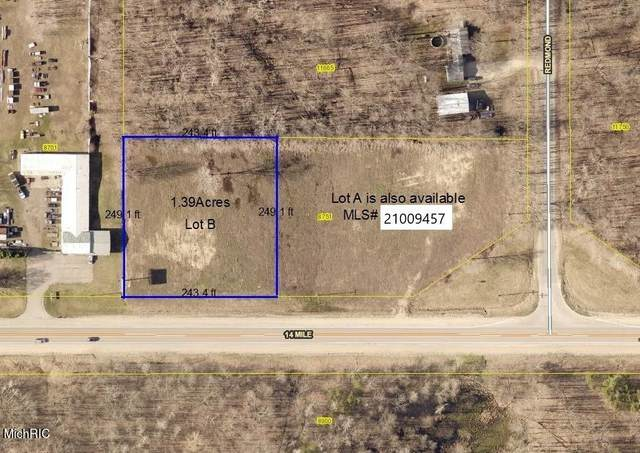 8751 14 Mile Road Lot B, Cedar Springs, MI 49319 (MLS #21009823) :: Keller Williams Realty | Kalamazoo Market Center