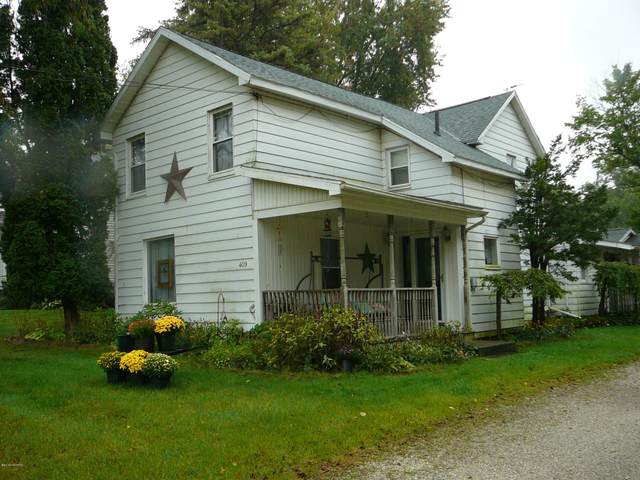 409 Evans Street, Jonesville, MI 49250 (MLS #21010293) :: Deb Stevenson Group - Greenridge Realty