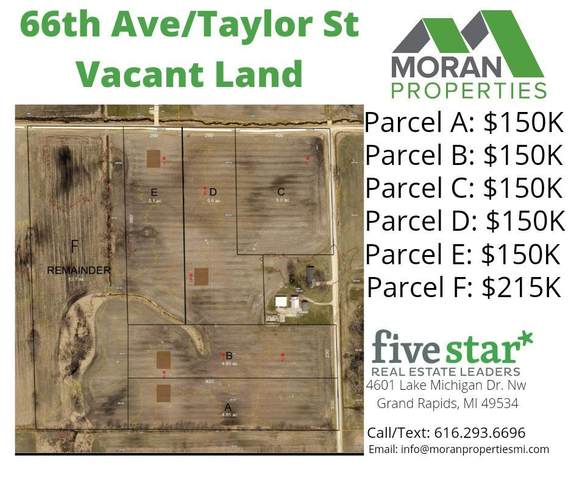 Parcel F Taylor Street, Hudsonville, MI 49426 (MLS #21011273) :: JH Realty Partners