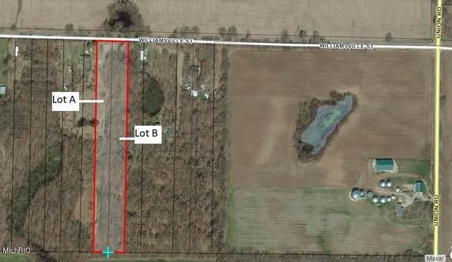 VL Lot B Williamsville, Vandalia, MI 49095 (MLS #21013877) :: Keller Williams Realty | Kalamazoo Market Center