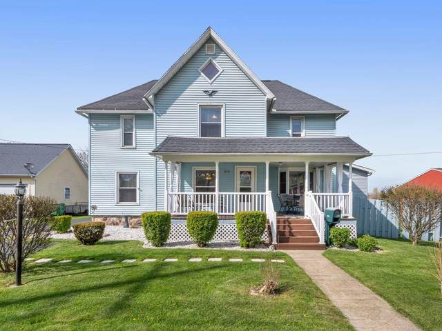 254 W Leigh Street, Homer, MI 49245 (MLS #21014436) :: Your Kzoo Agents