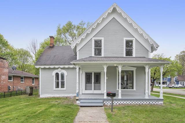213 N Lagrave Street, Paw Paw, MI 49079 (MLS #21015077) :: Your Kzoo Agents