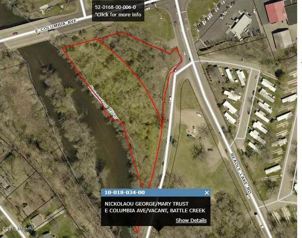 V/L E Columbia Avenue, Battle Creek, MI 49015 (MLS #21015380) :: Deb Stevenson Group - Greenridge Realty