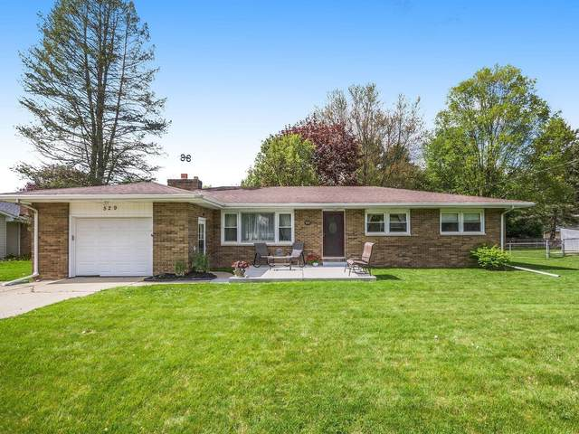 529 Hill Road, Marshall, MI 49068 (MLS #21015784) :: Your Kzoo Agents