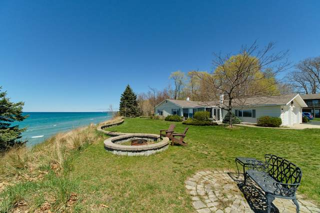 4010 Lakeshore Road, Manistee, MI 49660 (MLS #21016115) :: Deb Stevenson Group - Greenridge Realty