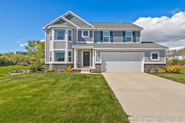 483 Ivy Grove Northwest, Grand Rapids, MI 49534 (MLS #21016439) :: Your Kzoo Agents