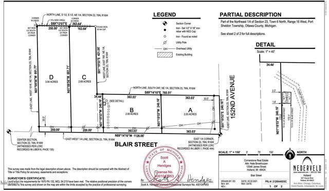 0 Blair Street B, West Olive, MI 49460 (MLS #21017354) :: JH Realty Partners