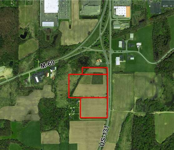 VL Us 131 Highway #32.29, Three Rivers, MI 49093 (MLS #21017844) :: BlueWest Properties